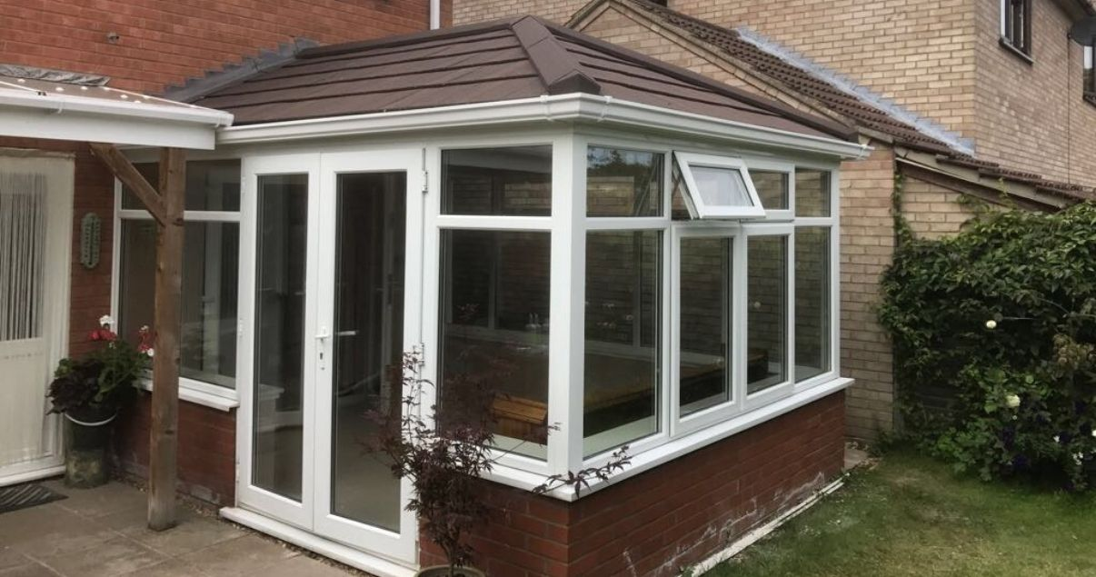 Victorian Edwardian conservatory roof replacement with a guardian roof