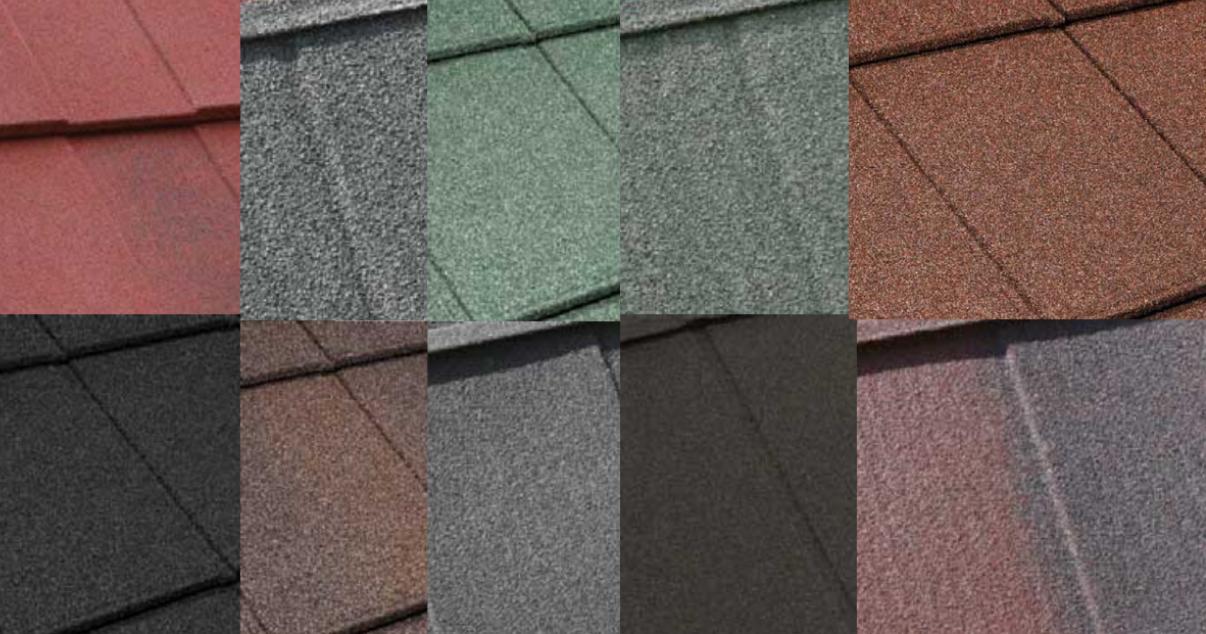 Metrotile Roof Tiles Collage
