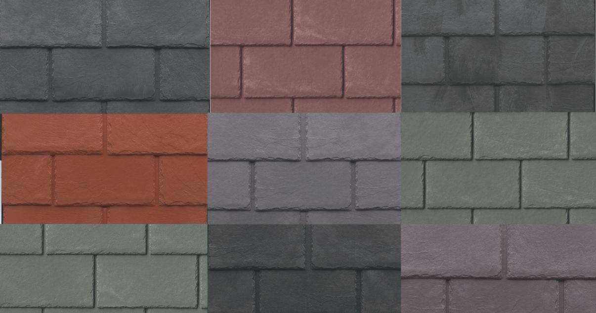 Tapco Roof Slates Collage